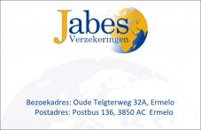 Business Card - Jabes Verzekeringen