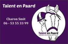 Business Card - Talent en Paard