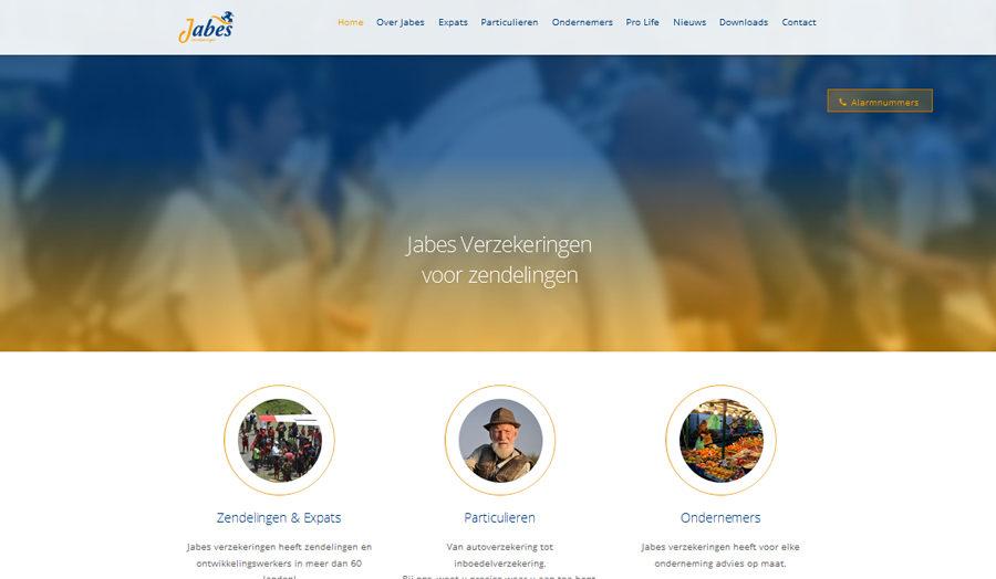 Homepage Jabesverzekeringen