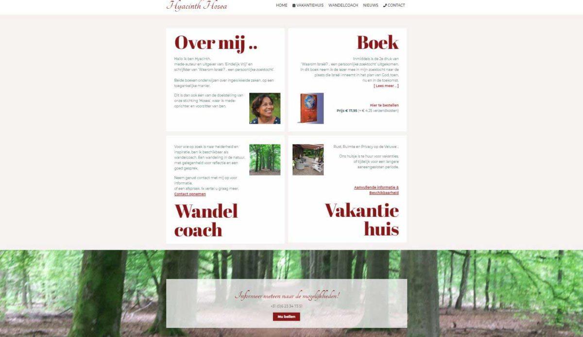 Homepage Hyacinth-Hosea