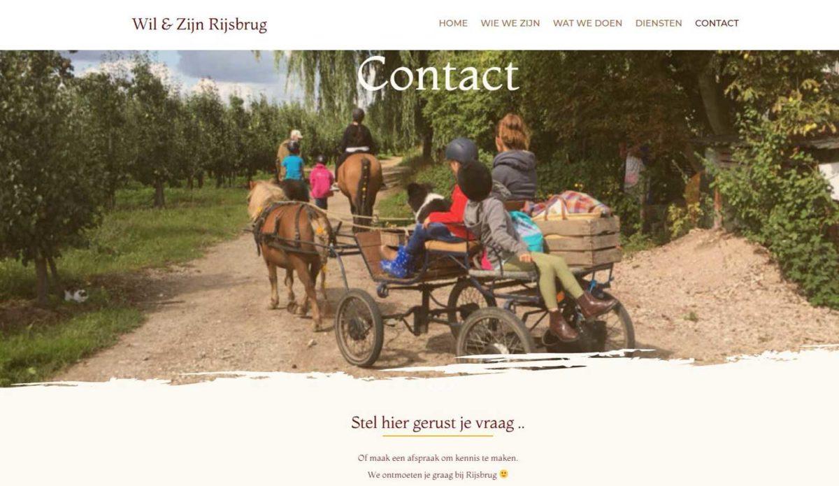 Homepage Wil-en-zijn-Rijsbrug